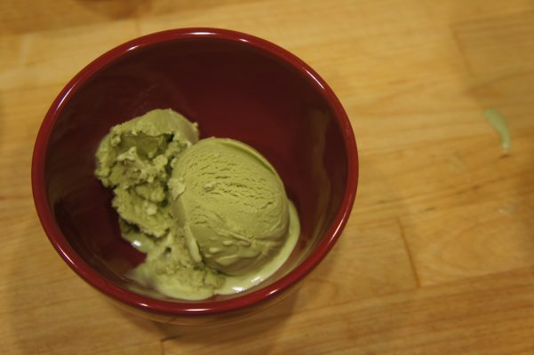 Matcha Mint Ice Cream // Serious Crust by Annie Fassler