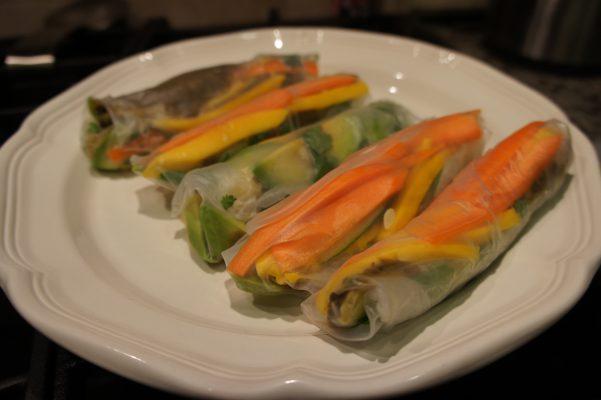Mariam's Salad Rolls // Serious Crust