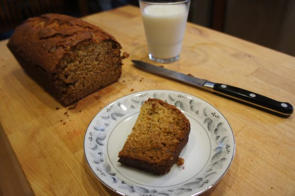 Banana Bread with Miso and Ginger // Serious Crust