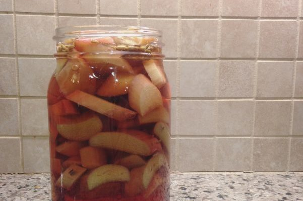 Quick Pickled Rhubarb | Serious Crust by Annie Fassler