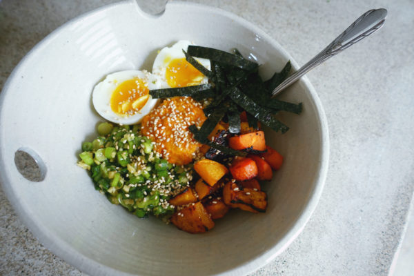 Quinoa Bowls with Roasted Vegetables | Serious Crust by Annie Fassler